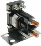 36-volt, 4 terminal, #120 series solenoid with silver contacts