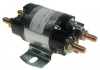 36-volt, 4 terminal, #124 series solenoid with silver contacts and easy mount base